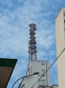 comunicação antena