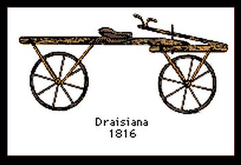 bicicleta draisiana