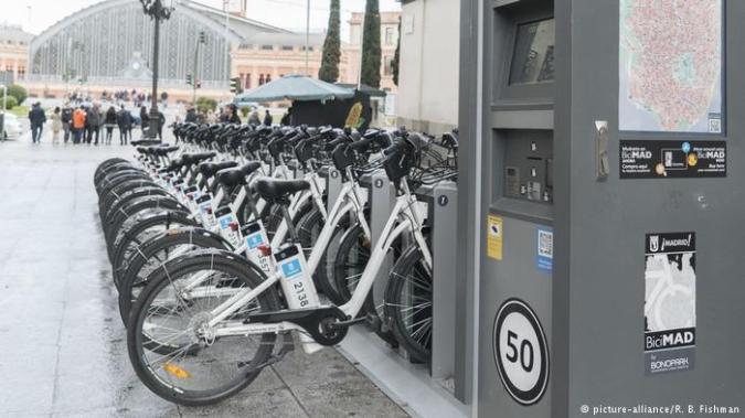 bikes madrid