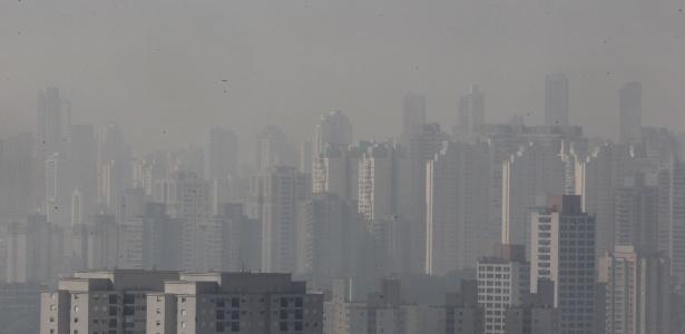 São Paulo com o tempo seco